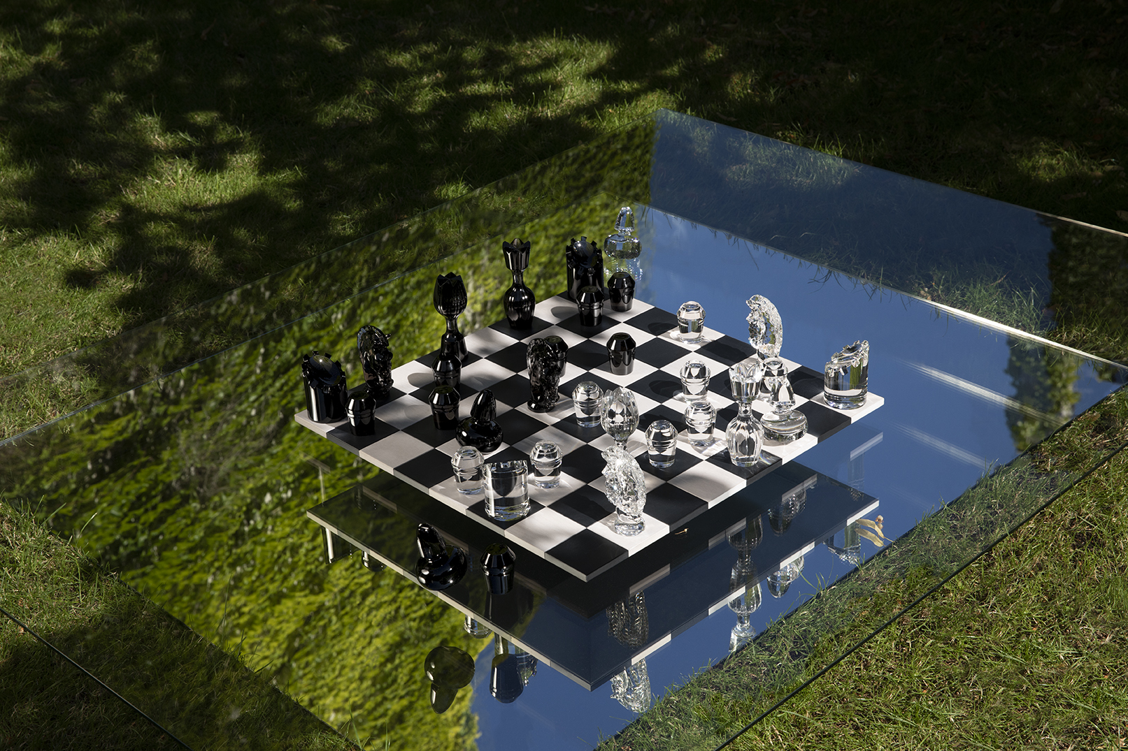 SAINT-LOUIS CRYSTAL · CHESS GAME